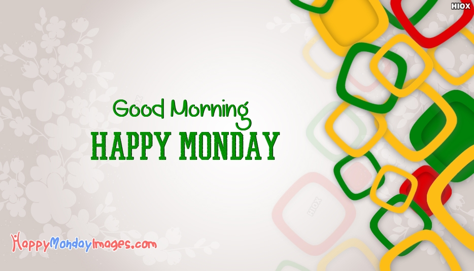 Happy Monday Friends Wishes Images