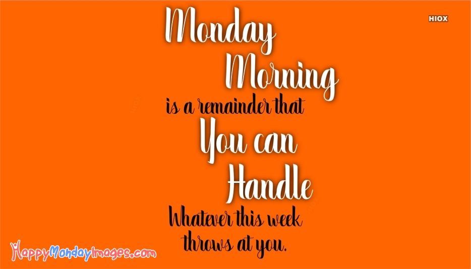 Happy Monday Images for Business