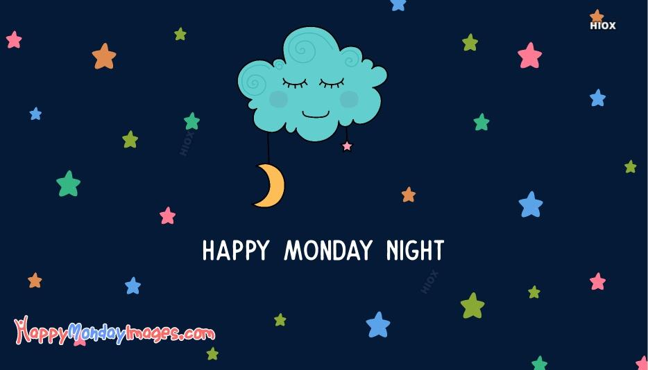 Happy Monday Good Night Images