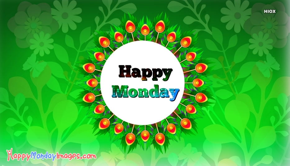 Happy Monday Images for Green