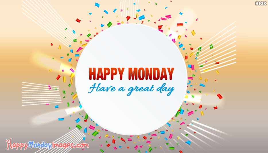 Happy Monday Blessing Images