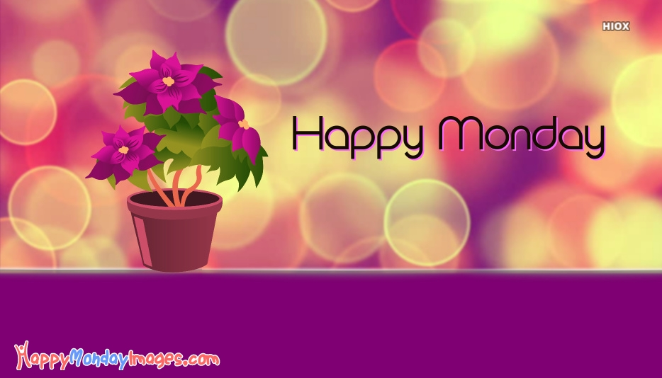Happy Monday Colorful Images