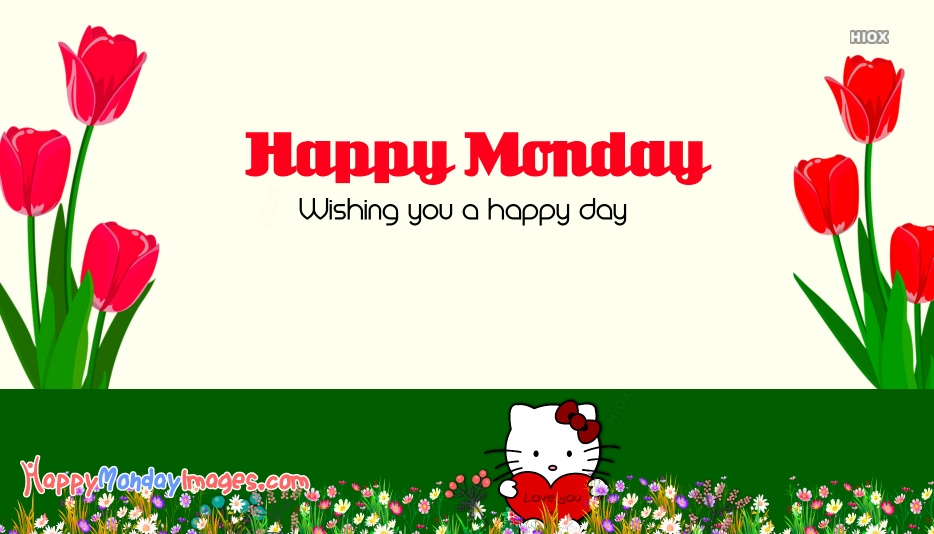 Happy Monday Hello Kitty Images, Pictures