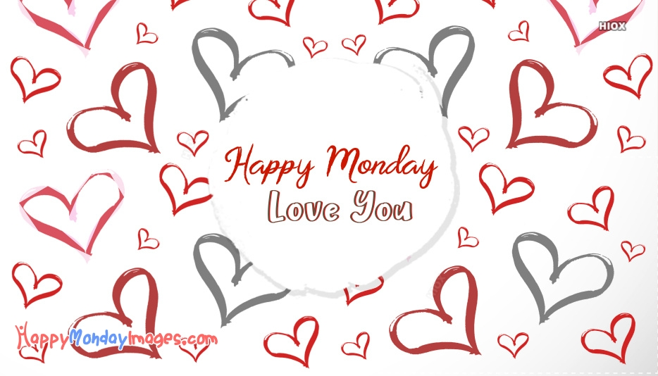 Happy Monday Heart Images
