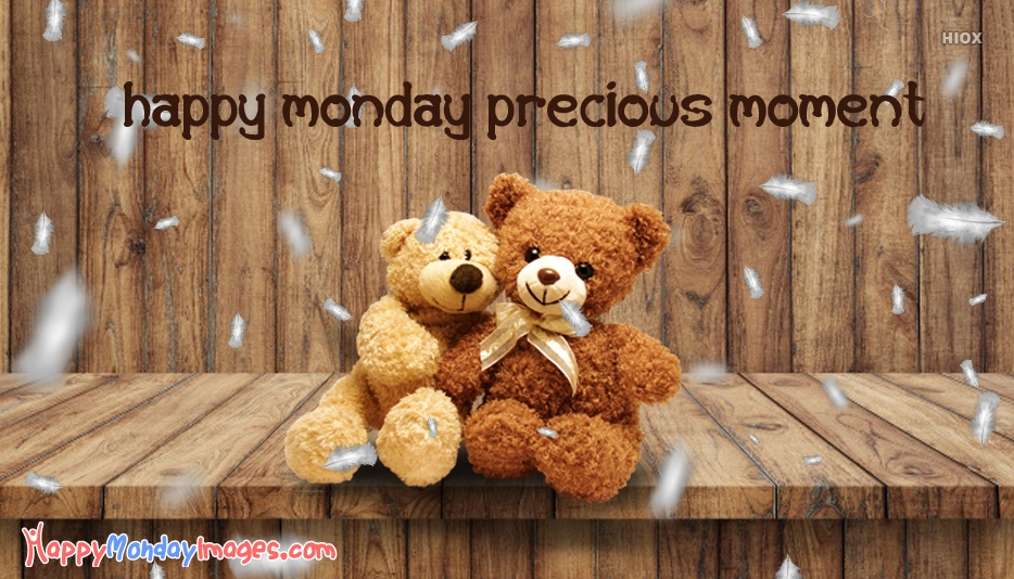 Happy Monday Teddy Bear Images