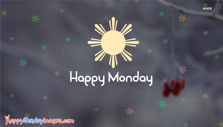 Happy Monday Snow