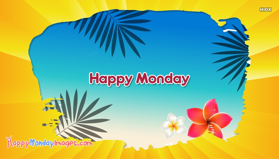 Happy Monday Summer Images