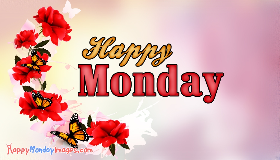 Happy Monday Wishes @ HappyMondayImages.com