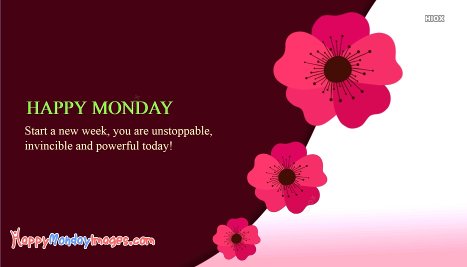 Happy Monday With Quotes