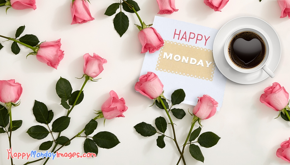 Happy Monday Images With Flowers