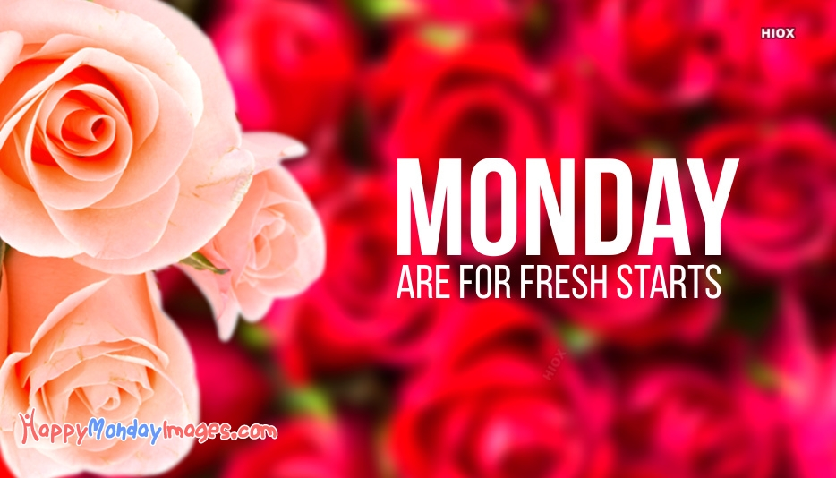 Beautiful Happy Monday Images