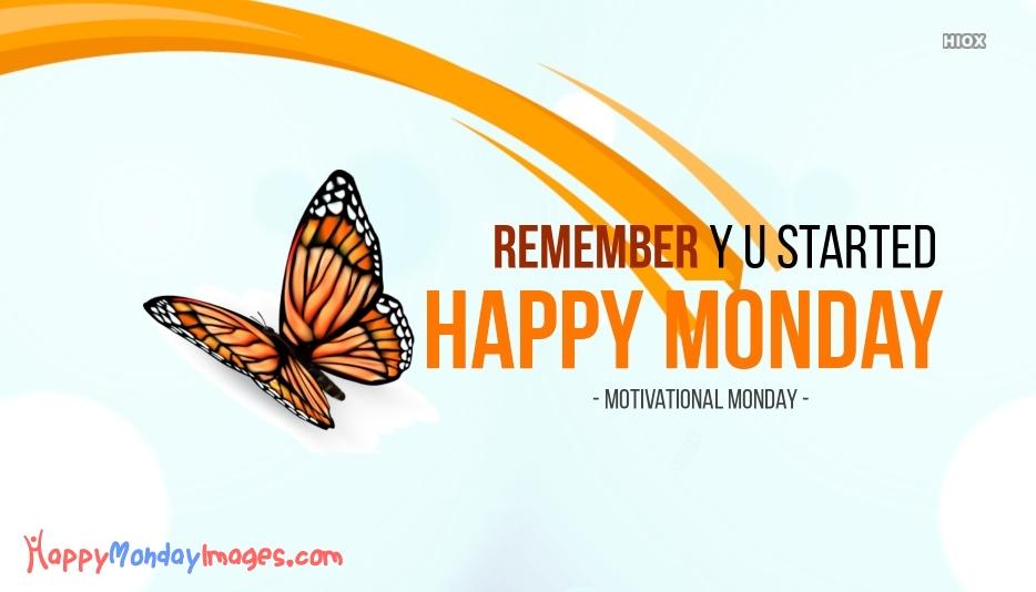 Monday Motivational Wishes Image