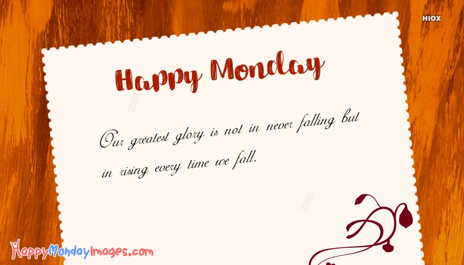 Happy Monday Quotes Images