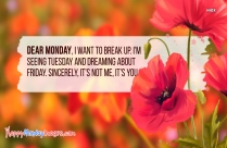 Happy Monday Messages Images