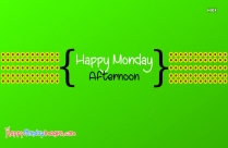 Happy Monday Telugu