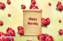 Happy Monday Beautiful Rose Image