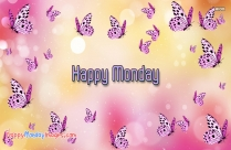 Happy Monday Butterfly