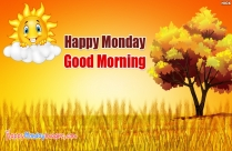 Happy Monday Good Morning HD Image