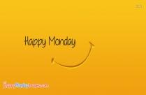 happy monday smiley
