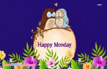 Happy Monday Owl Image