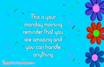 Happy Monday Quote Work