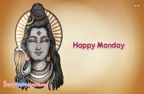 Happy Monday With Lord Shiva
