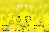 happy monday smiley images