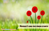 Happy Monday Qoutes