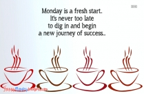 Positive Monday Morning Quotes | Monday Is A Fresh Start